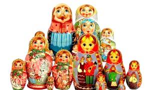 Російські національні подарунки для іноземців