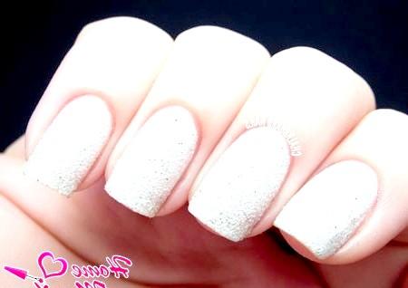 Фото - пісочний лак на нігтях OPI Solitare