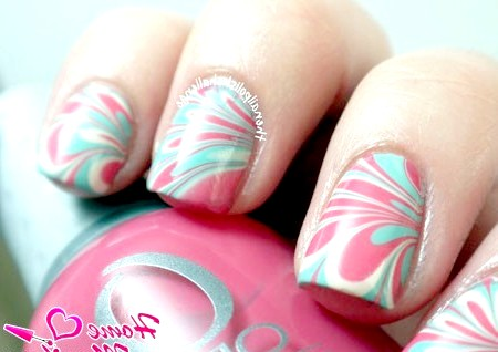 Фото - приємний рожево-блакитний дизайн