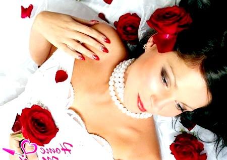 Фото - весільний дизайн нігтів