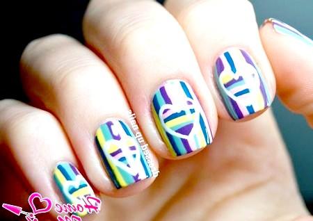 Фото - оригінальний і яскравий дизайн нігтів