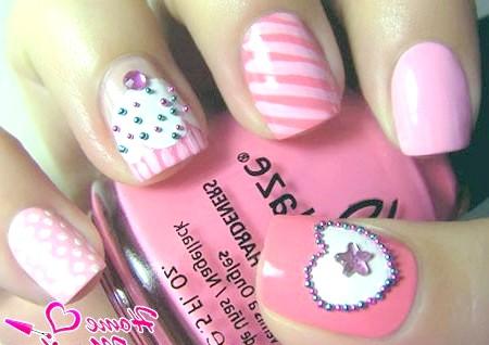 Фото - оригінальний дизайн нігтів в різному стилі