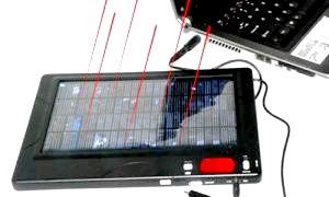 Сонячна батарея для зарядки телефону - паличка-виручалочка для бізнесменів і відпочиваючих