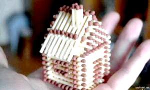 Будуємо терем-теремок: як зробити будиночок із сірників