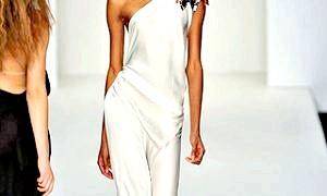 Весільні сукні 2012: простота і елегантність знову в моді