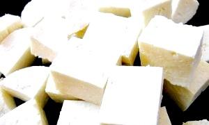 Твороженной ніжність індійського сиру панир