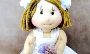 Вчимося робити ляльок з колготок своїми руками - майструємо!