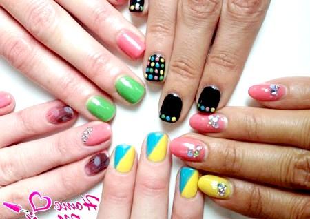 Фото - безліч варіантів дизайну нігтів за допомогою біогелю