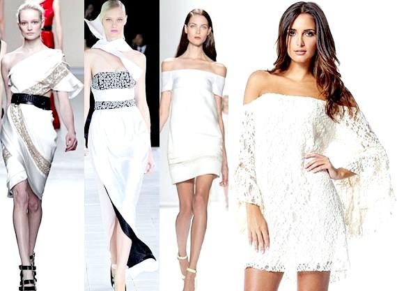 Фото - Білі сукні на Новий рік 2015