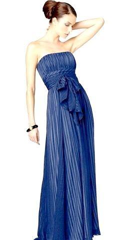Фото - Синє плаття для Нового року 2015