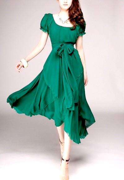 Фото - Зелене вбрання на Новий рік 2015