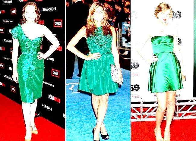 Фото - Зелені коктейльні сукні