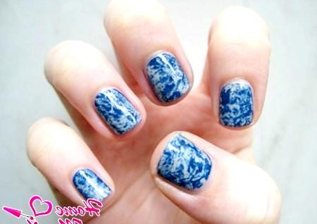 Фото - гарний дизайн на коротких нігтях