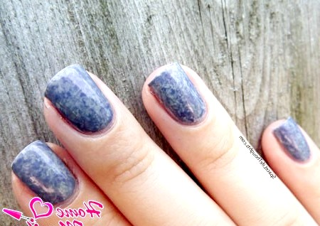 Фото - ефект брудного мармуру на нігтях