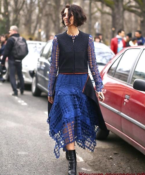Весняна вулична мода нью-йорка і милана
