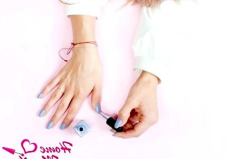Фото - як наносити лак на нігті