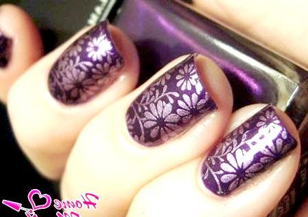 Фото - гарний дизайн нігтів для святкового вечора