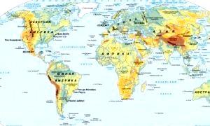 Чим відрізняється материк від частини світу і що таке континент