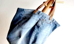 Що можна зробити зі старих джинс - оригінальні деталі інтер'єру та аксесуари