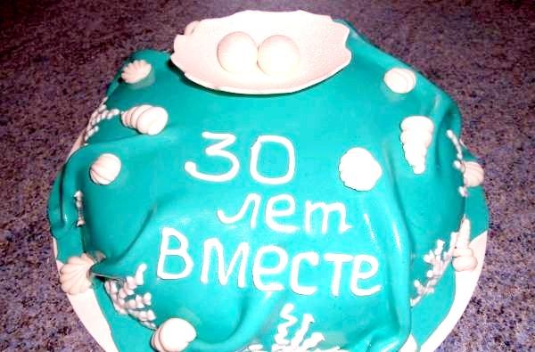Фото - Оргинальний весільний торт