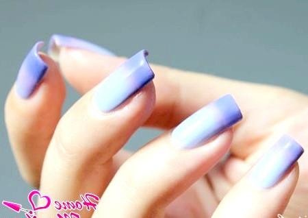 Фото - триколірний термолаком для нігтів Dance Legend
