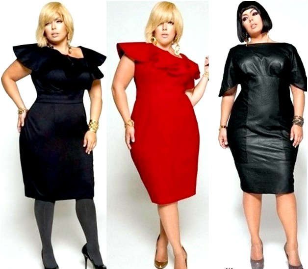 Мода для повних жінок 2015