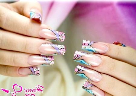 Фото - дизайн за допомогою гель-фарби для нігтів
