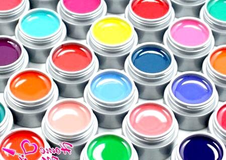Фото - різноманітна гель-фарба для нігтів