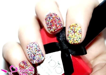 Фото - об'ємний дизайн нігтів з бульонкамі ciate
