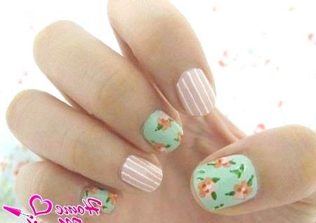 Фото - елегантний і ніжний дизайн нігтів